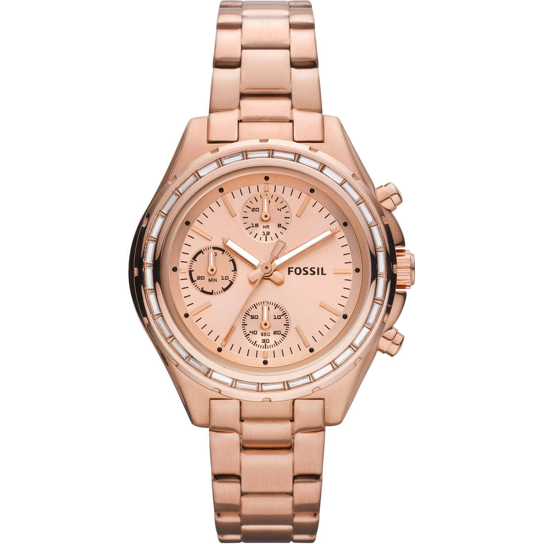montre chronographe femme Fossil CH2826