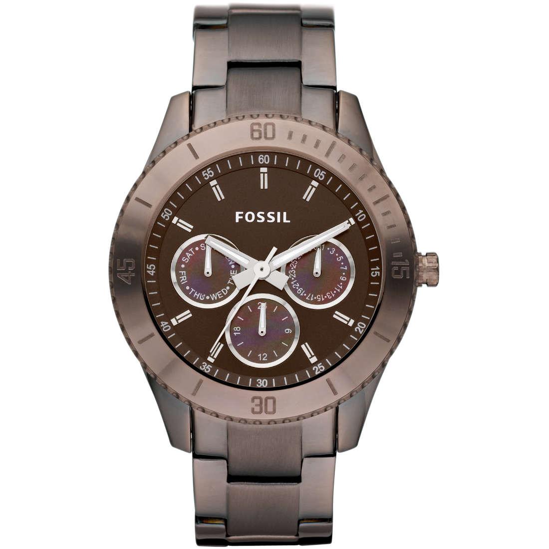 montre chronographe femme Fossil ES3021