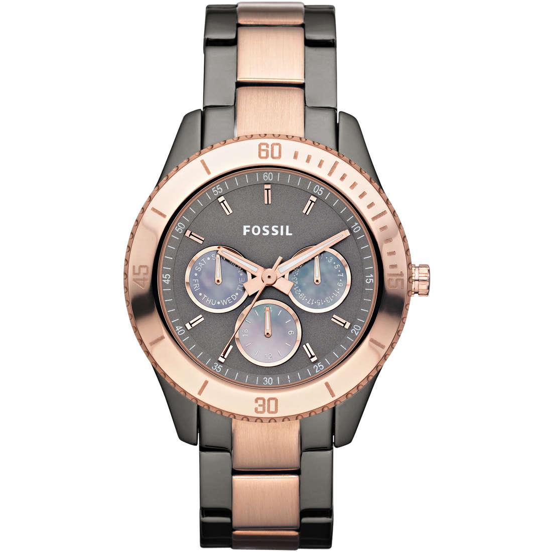 montre chronographe femme Fossil ES3030