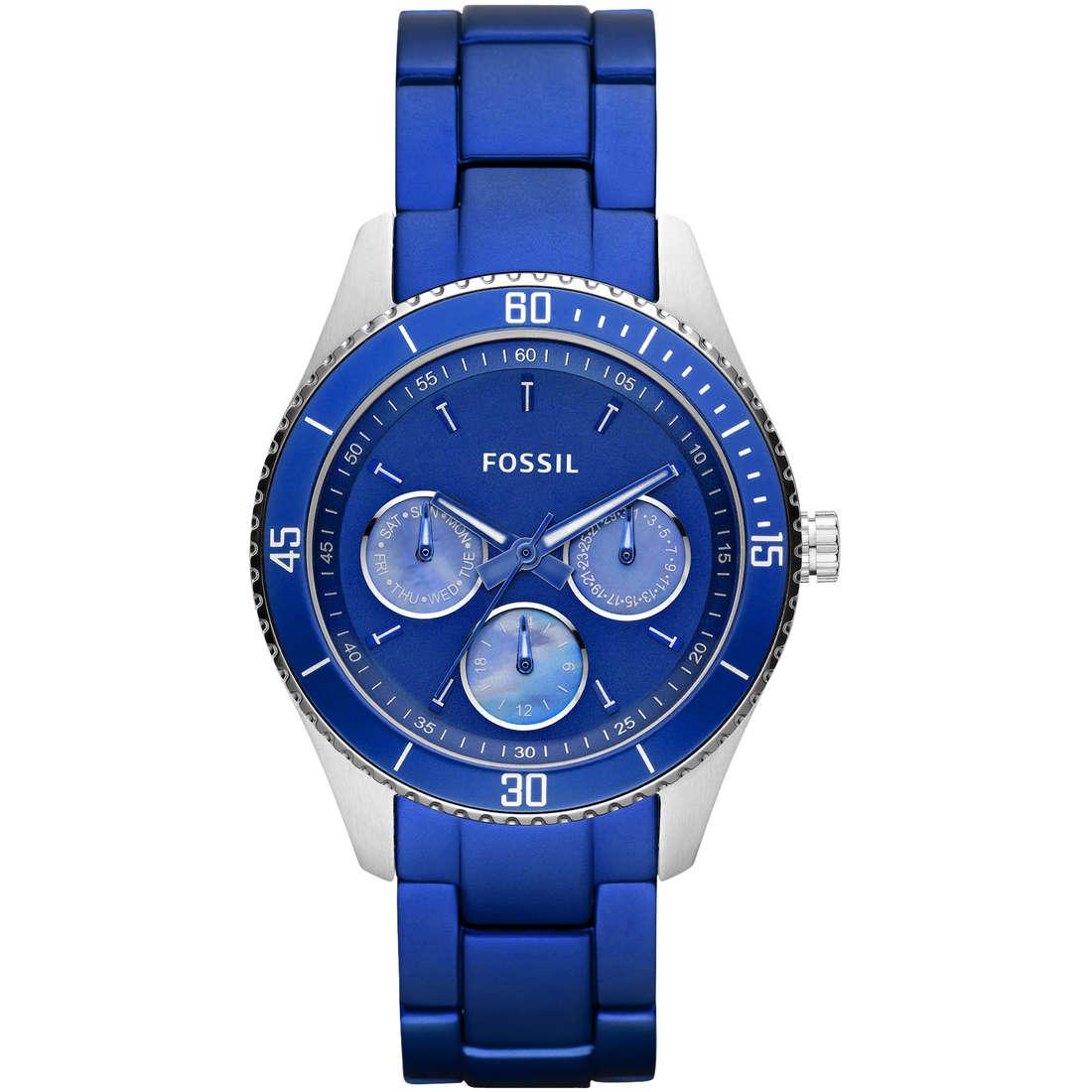 montre chronographe femme Fossil ES3035