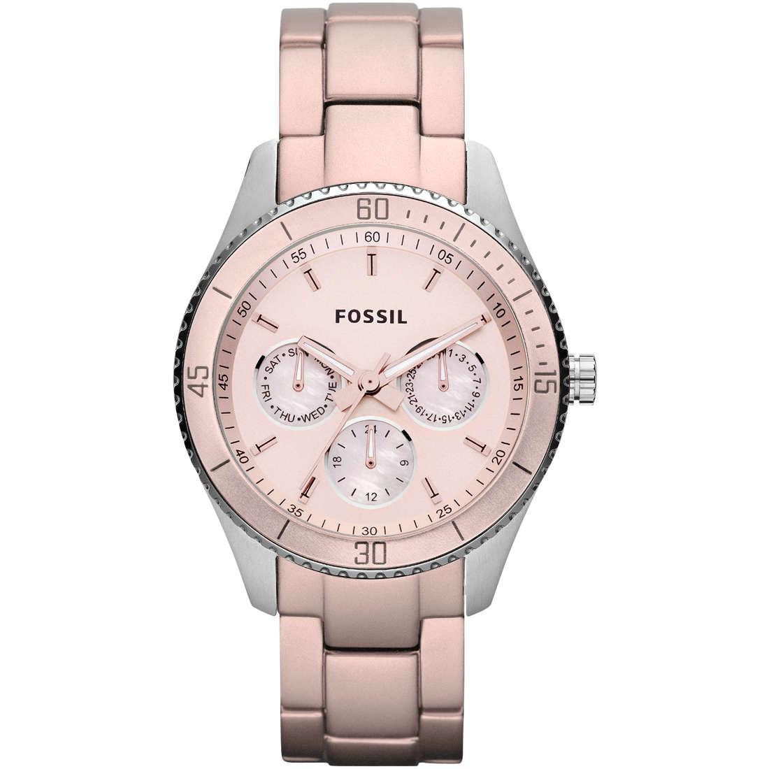 montre chronographe femme Fossil ES3037