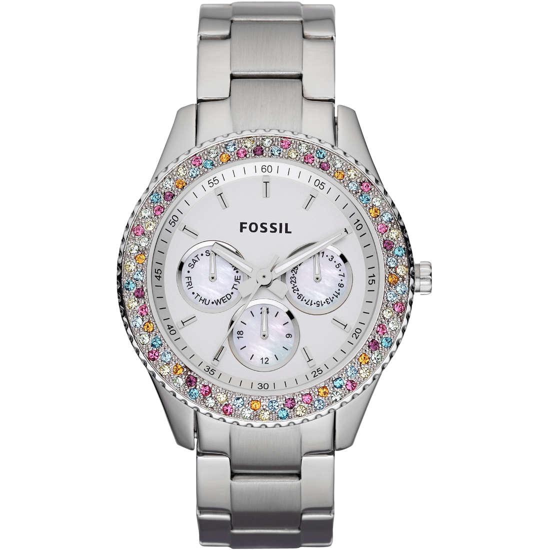 montre chronographe femme Fossil ES3049