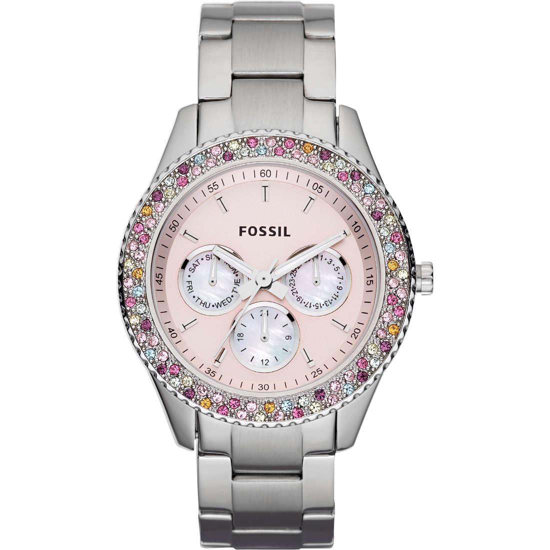 montre chronographe femme Fossil ES3050