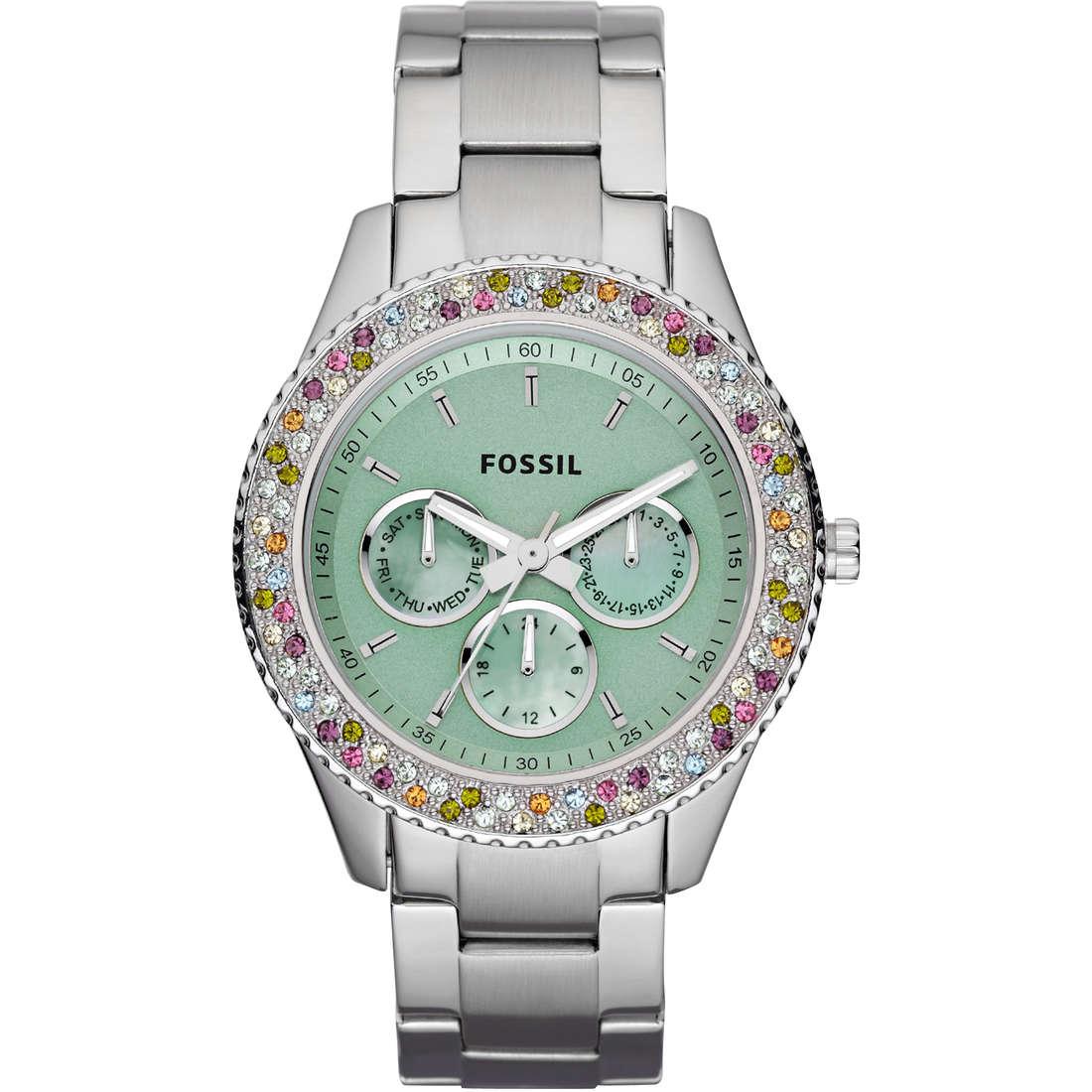 montre chronographe femme Fossil ES3051