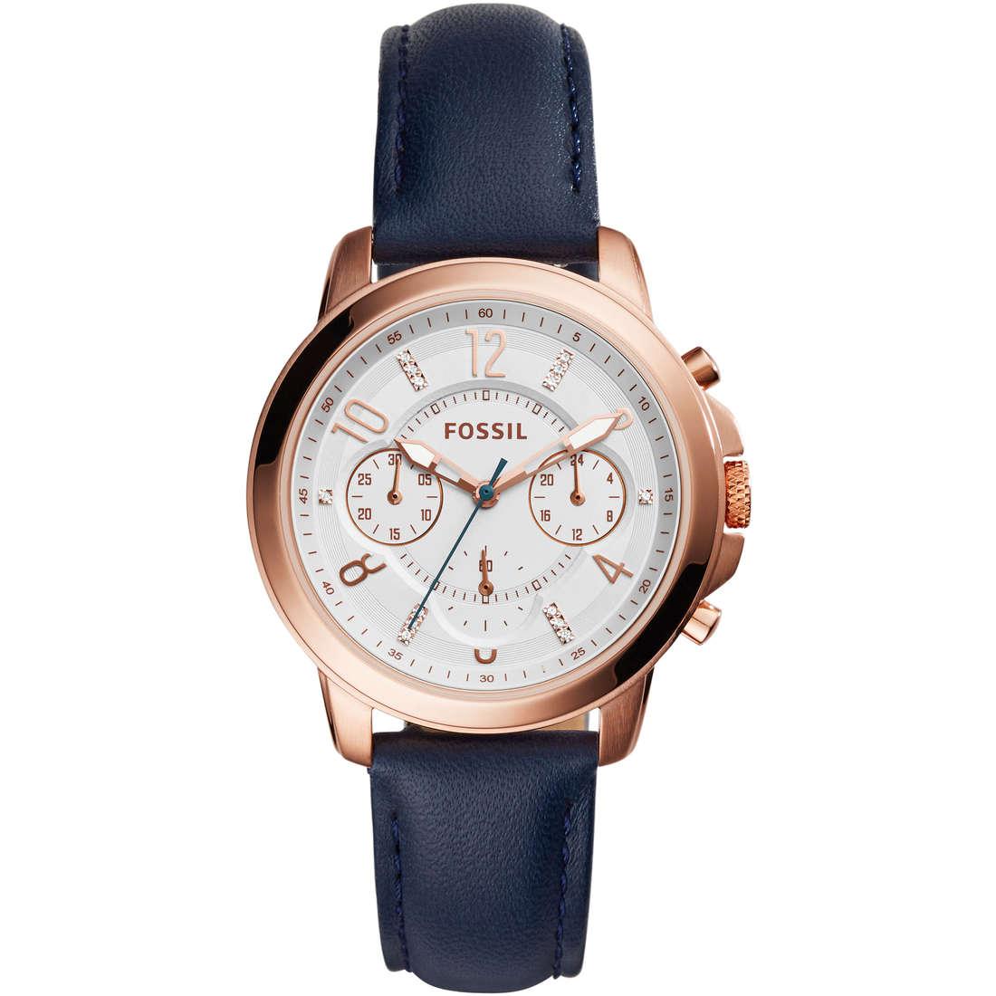 montre chronographe femme Fossil ES4040