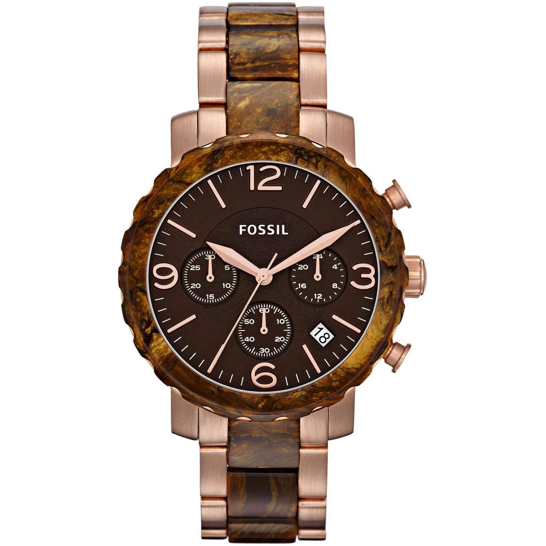 montre chronographe femme Fossil JR1385