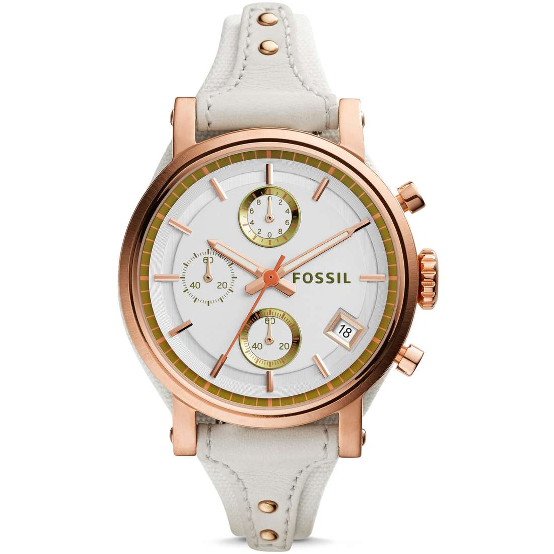 montre chronographe femme Fossil Obf ES3947