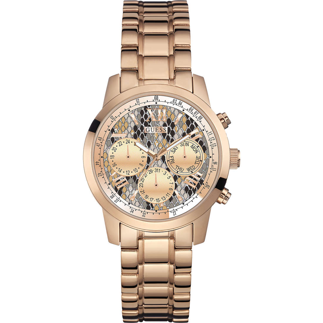 montre chronographe femme Guess Mini Sunrise W0448L9