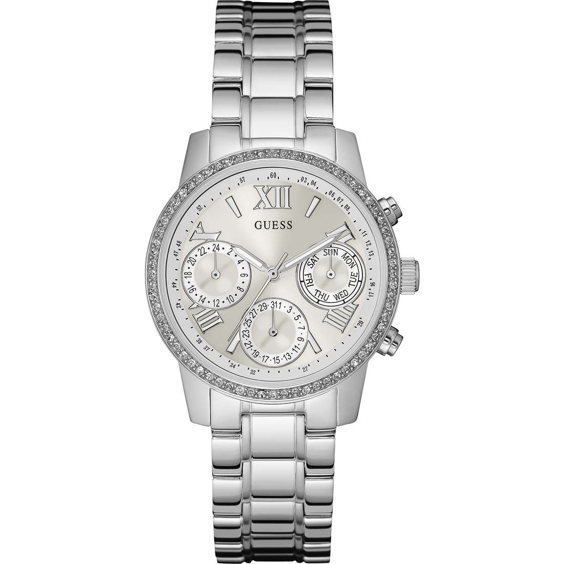 montre chronographe femme Guess Mini Sunrise W0623L1