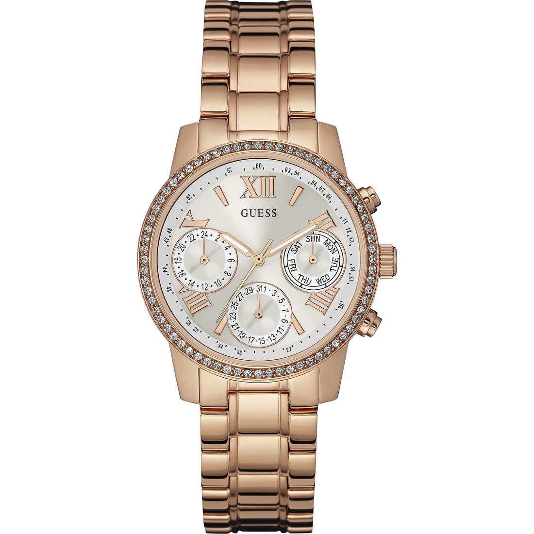 montre chronographe femme Guess Mini Sunrise W0623L2