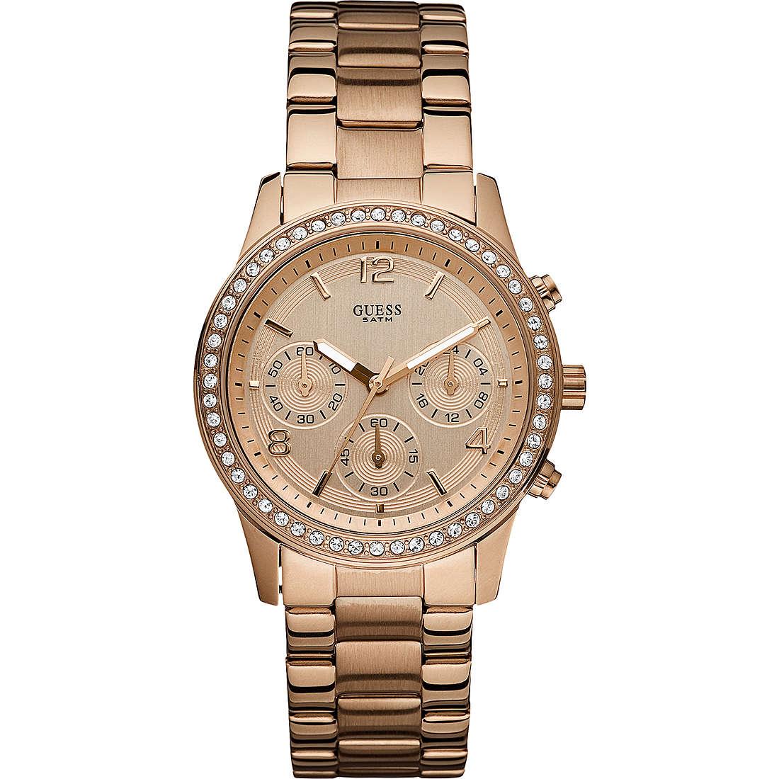 montre chronographe femme Guess W0122L3