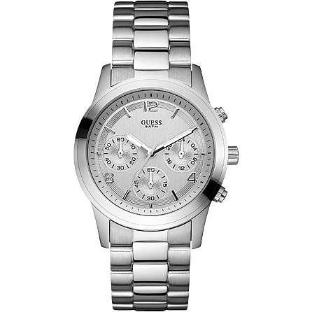 montre chronographe femme Guess W12086L1