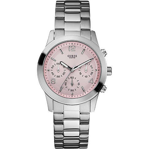 montre chronographe femme Guess W12086L2