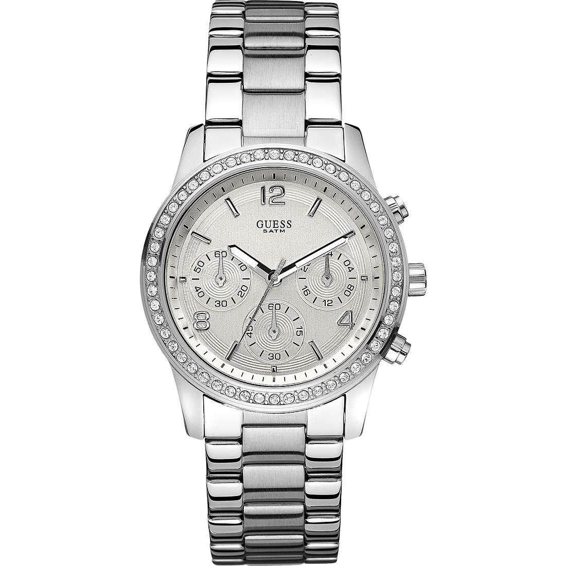 montre chronographe femme Guess W14537L1