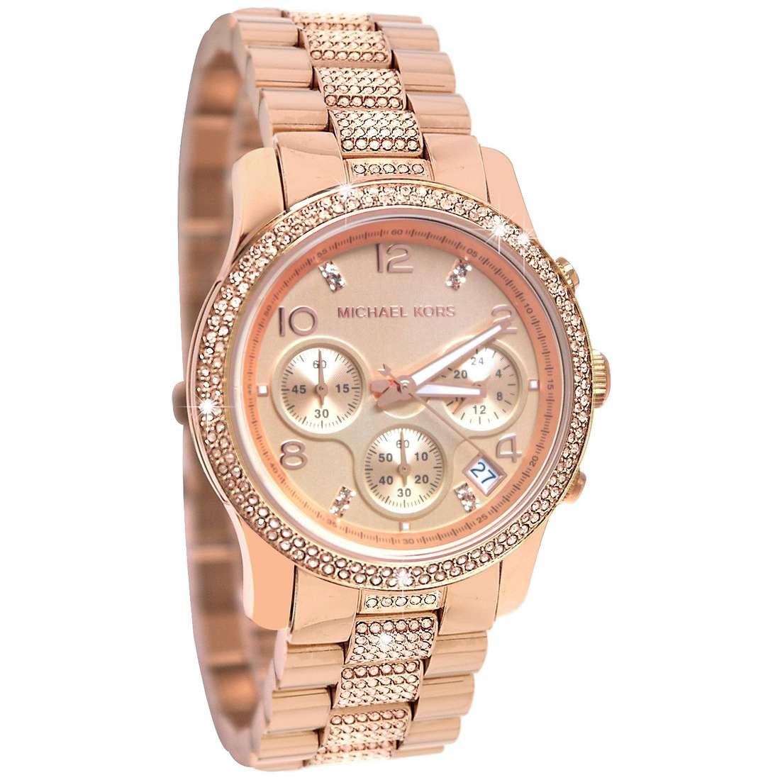 montre chronographe femme Michael Kors Fall 2013 MK5827
