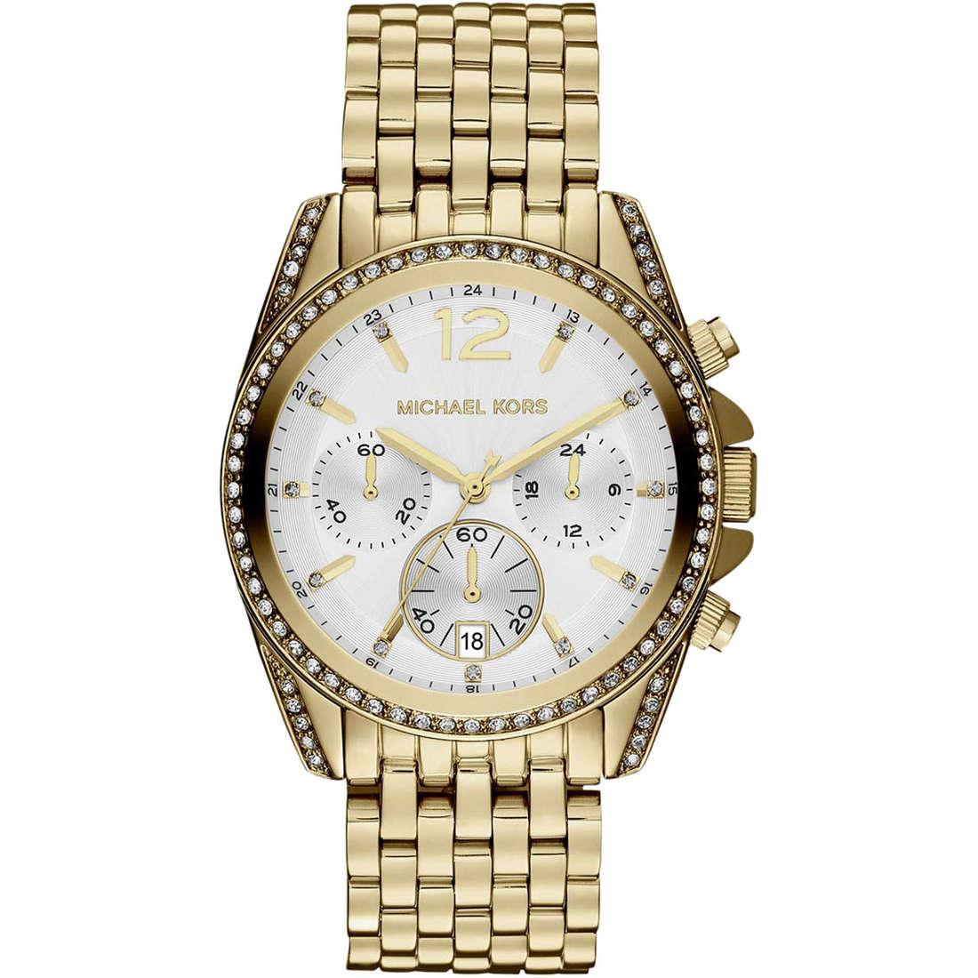 montre chronographe femme Michael Kors Fall 2013 MK5835