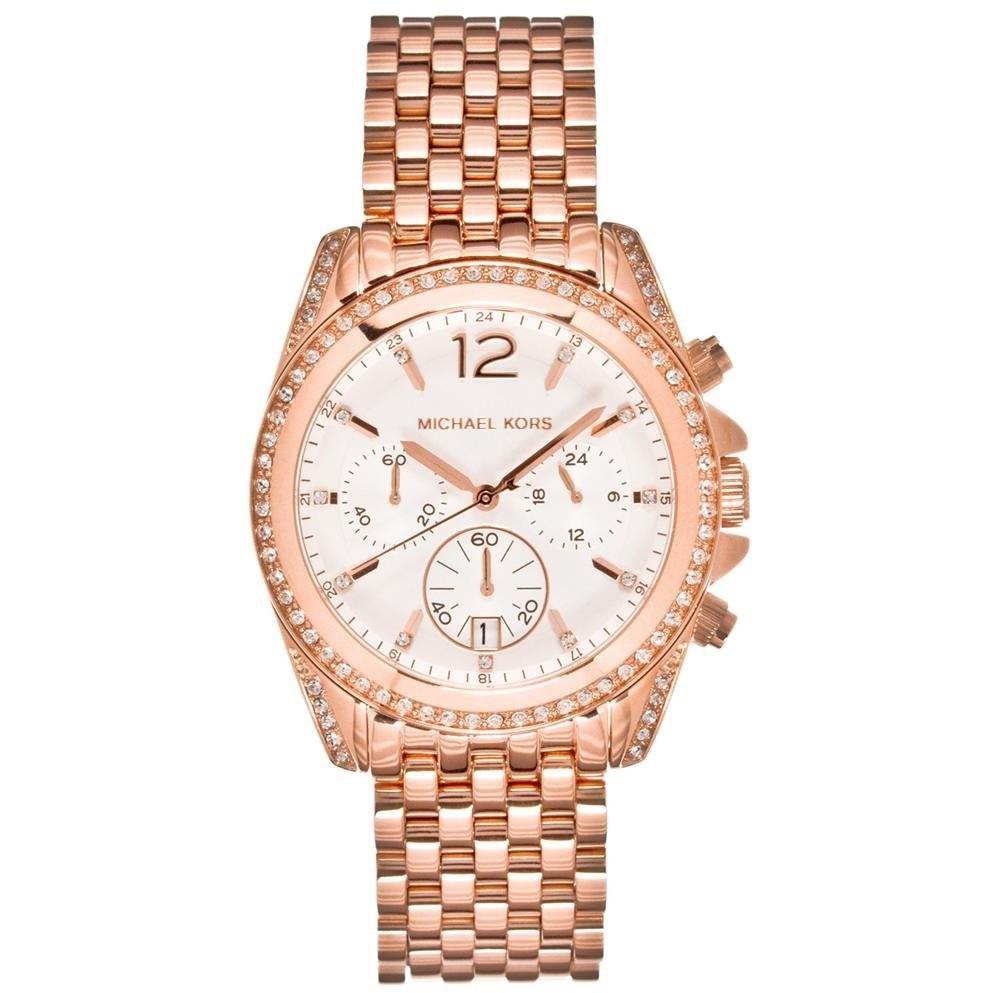 montre chronographe femme Michael Kors Fall 2013 MK5836