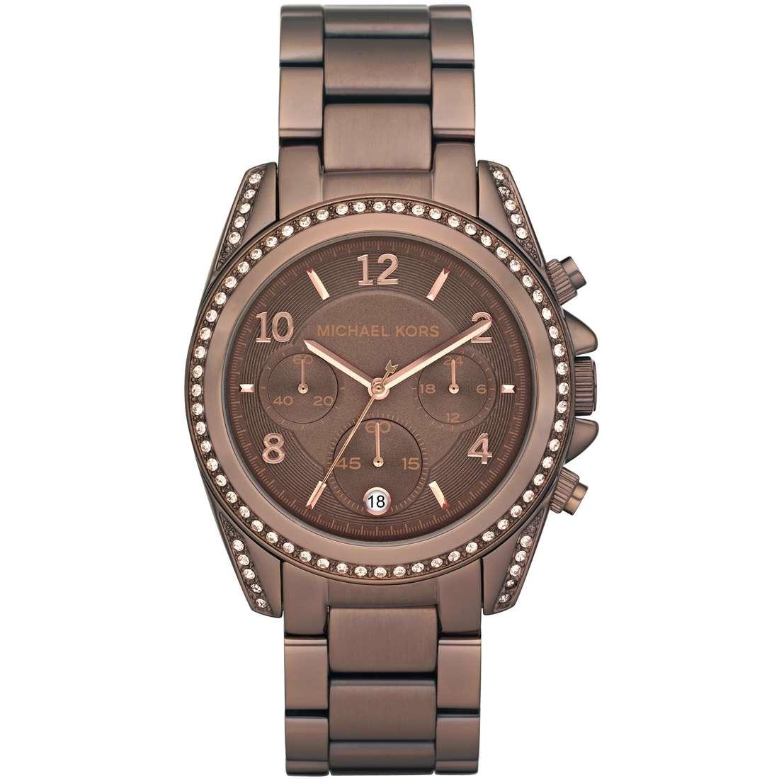 montre chronographe femme Michael Kors MK5493