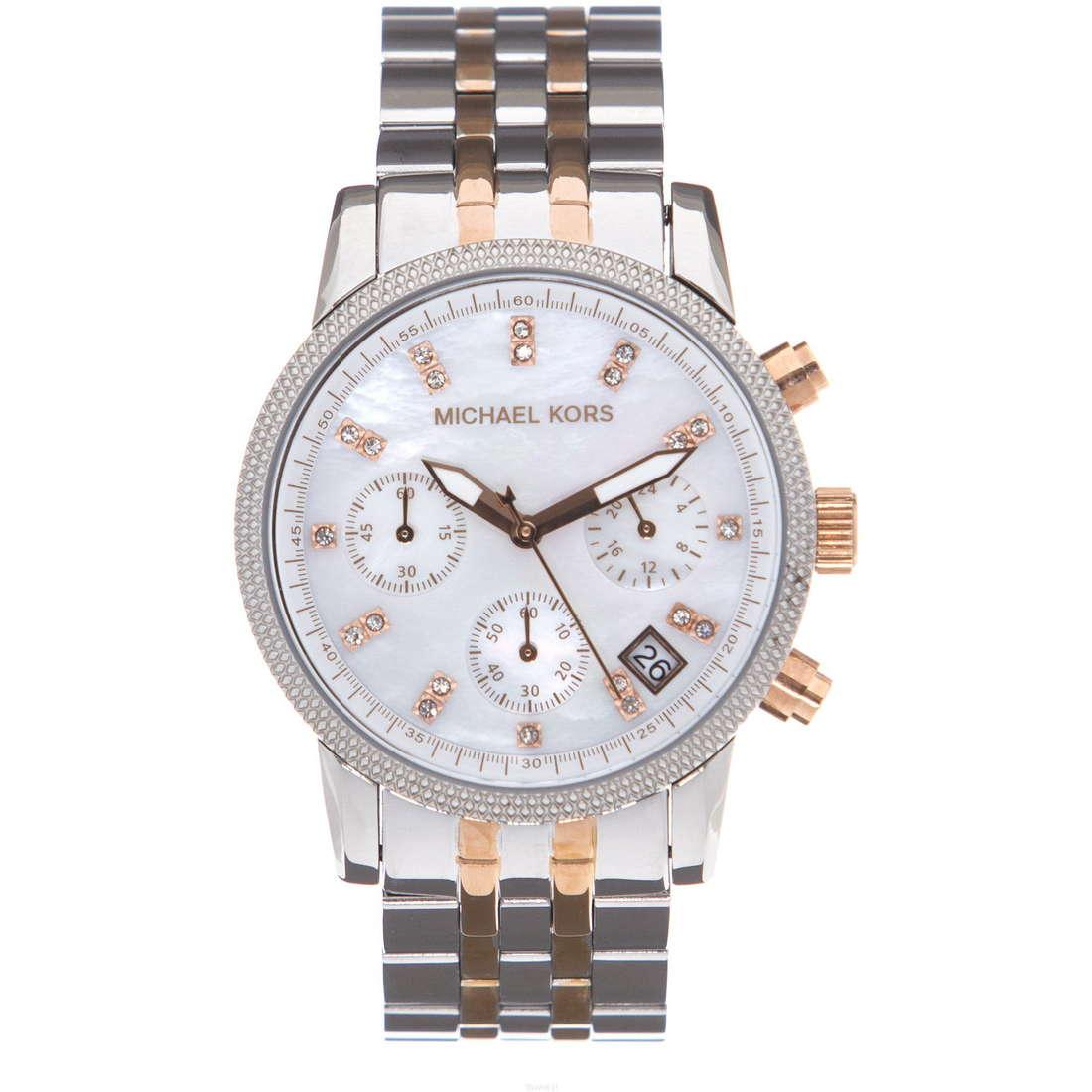 montre chronographe femme Michael Kors MK5525