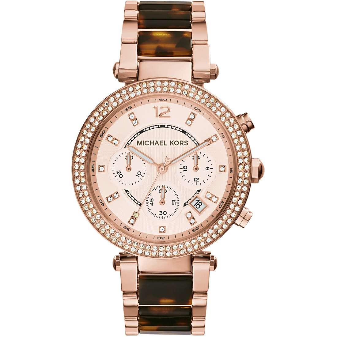 montre chronographe femme Michael Kors MK5538