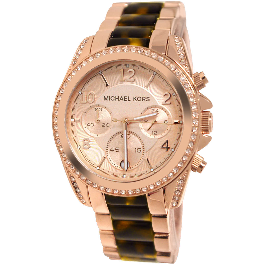 montre chronographe femme Michael Kors MK5859