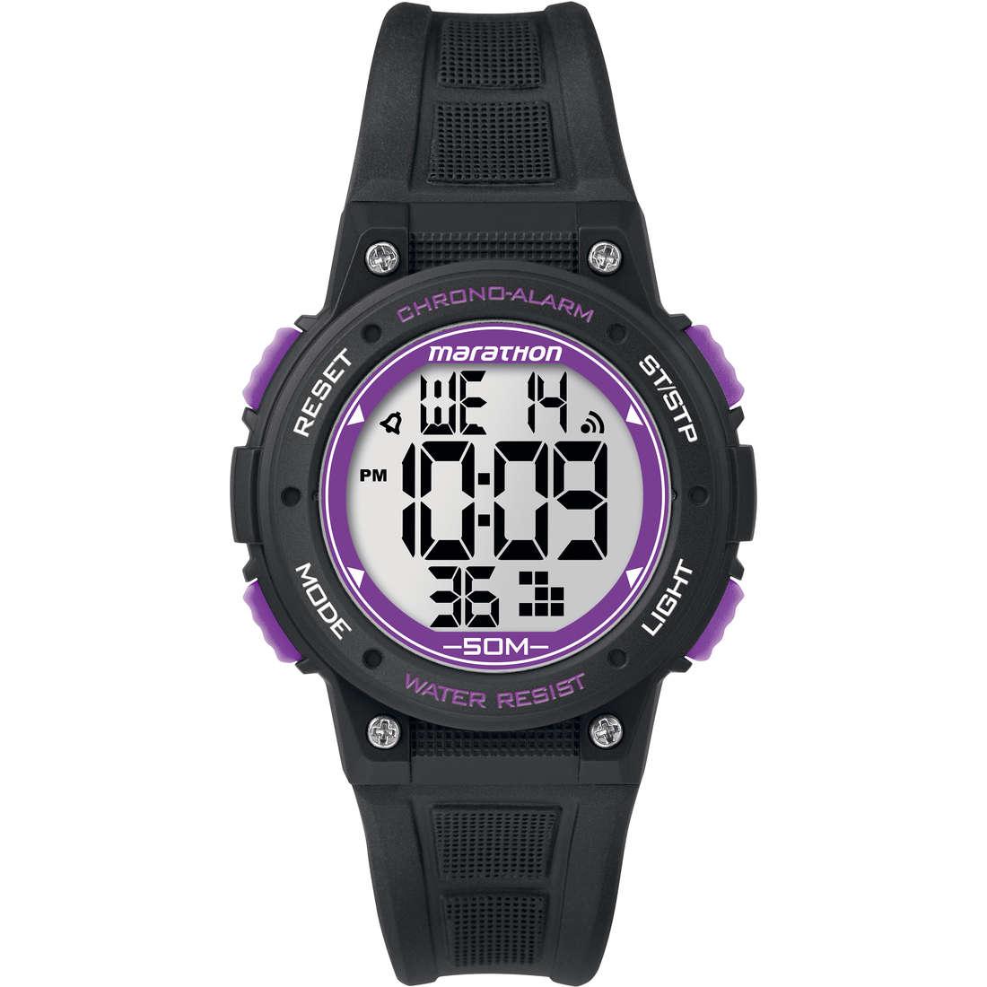 montre chronographe femme Timex Marathon Digital TW5K84700
