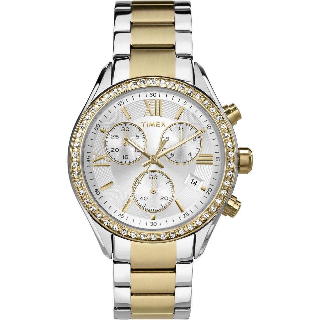 montre chronographe femme Timex Women's Collection TW2P67000