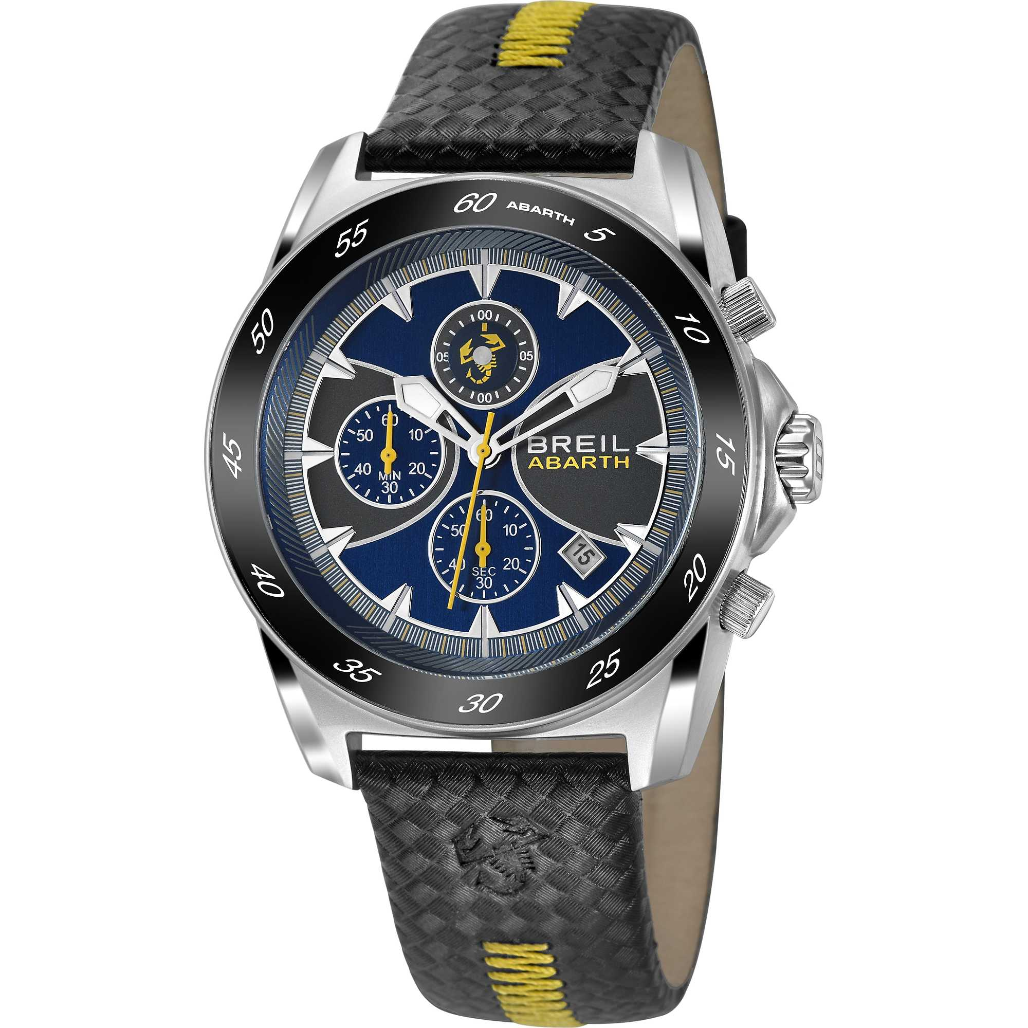 montre chronographe homme breil abarth tw1246 chronographes breil. Black Bedroom Furniture Sets. Home Design Ideas