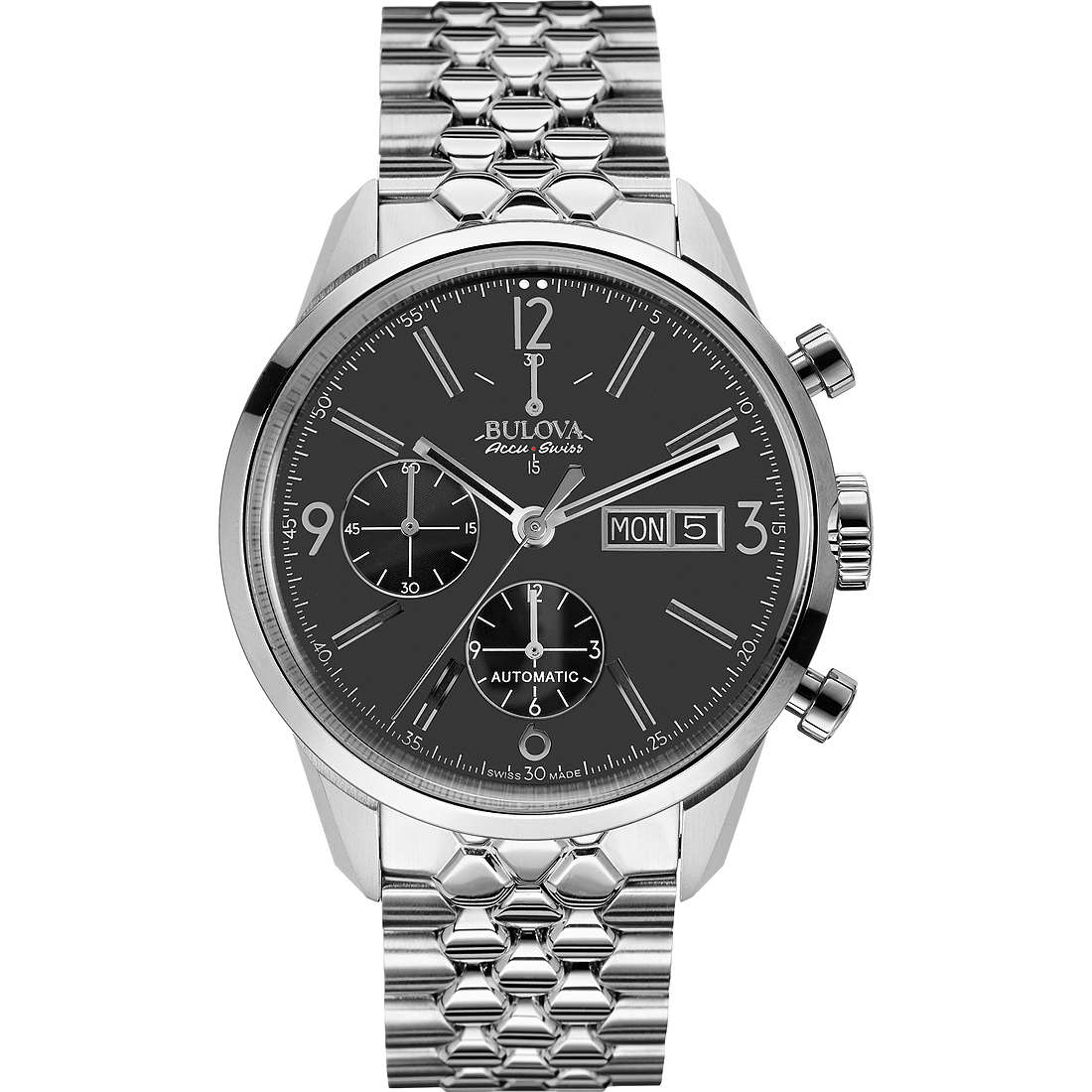 montre chronographe homme Bulova Accu Swiss Murren 63C119
