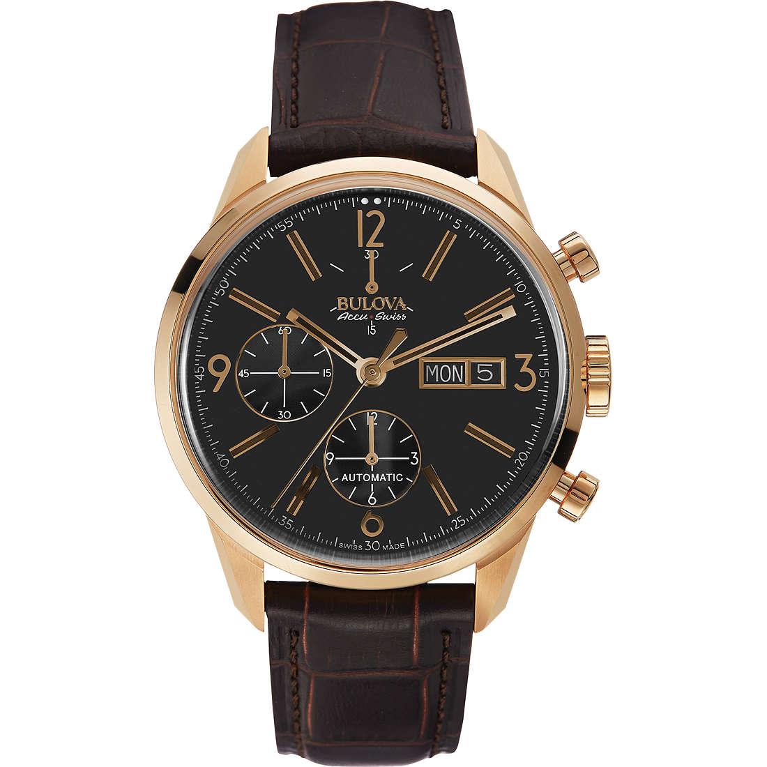 montre chronographe homme Bulova Accu Swiss Murren 64C106
