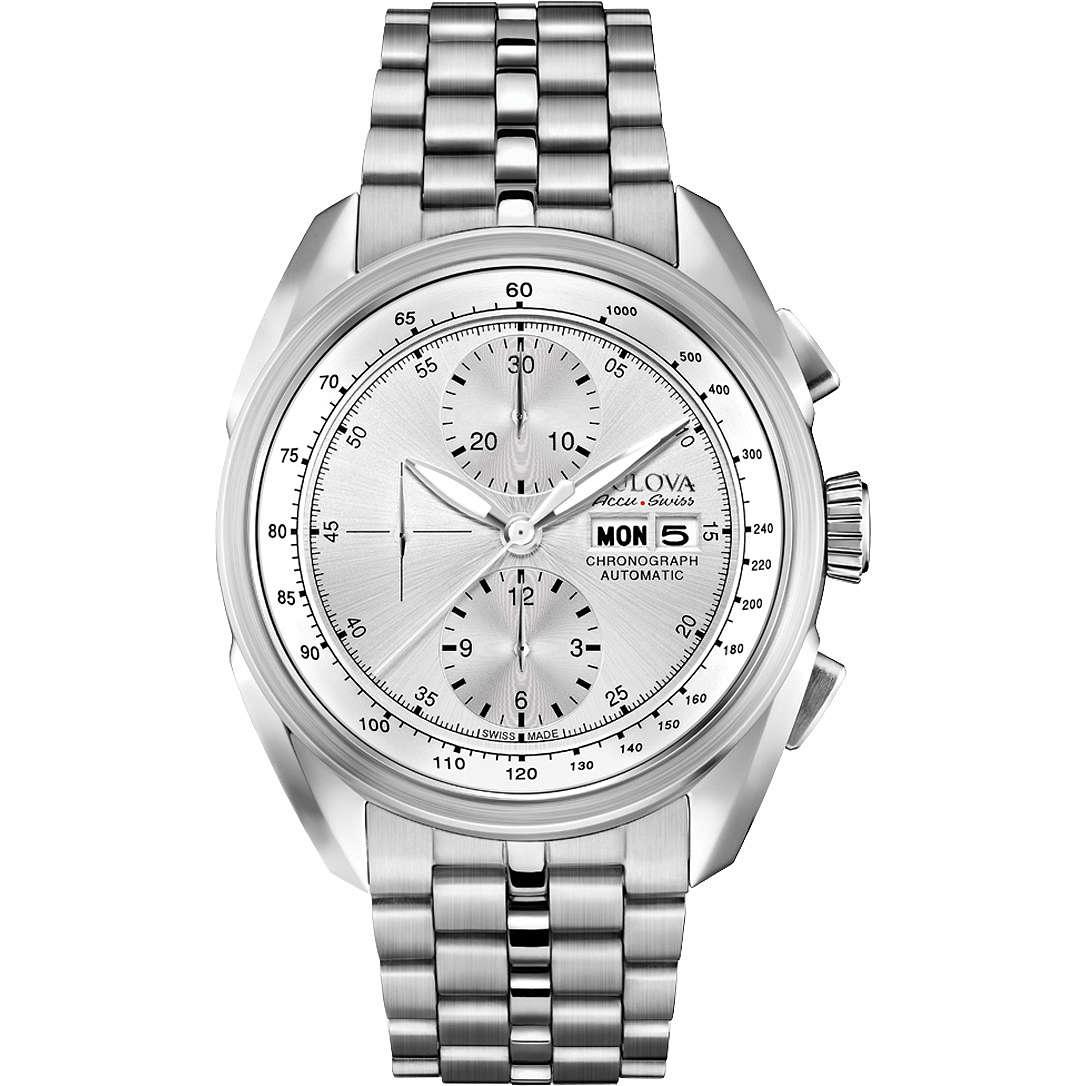 montre chronographe homme Bulova Accu Swiss Tellaro 63C120