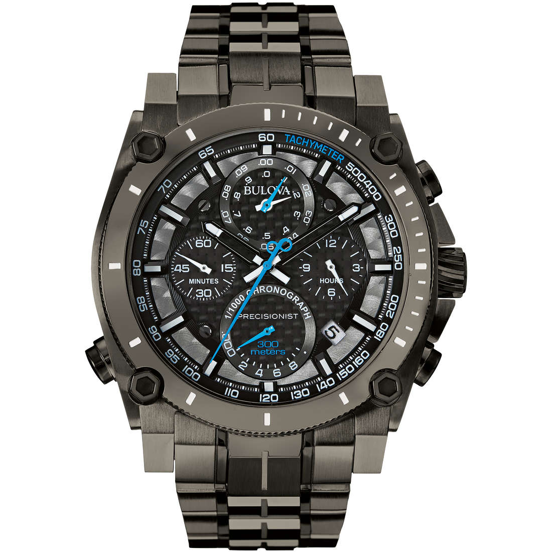montre chronographe homme Bulova Champlain Chrono 98G229
