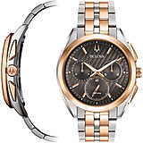 montre chronographe homme Bulova Curv 98A160