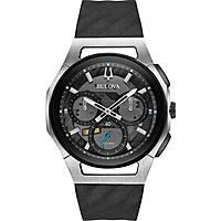 montre chronographe homme Bulova Curve Progressive Sport 98A161