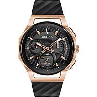 montre chronographe homme Bulova Curve Progressive Sport 98A185