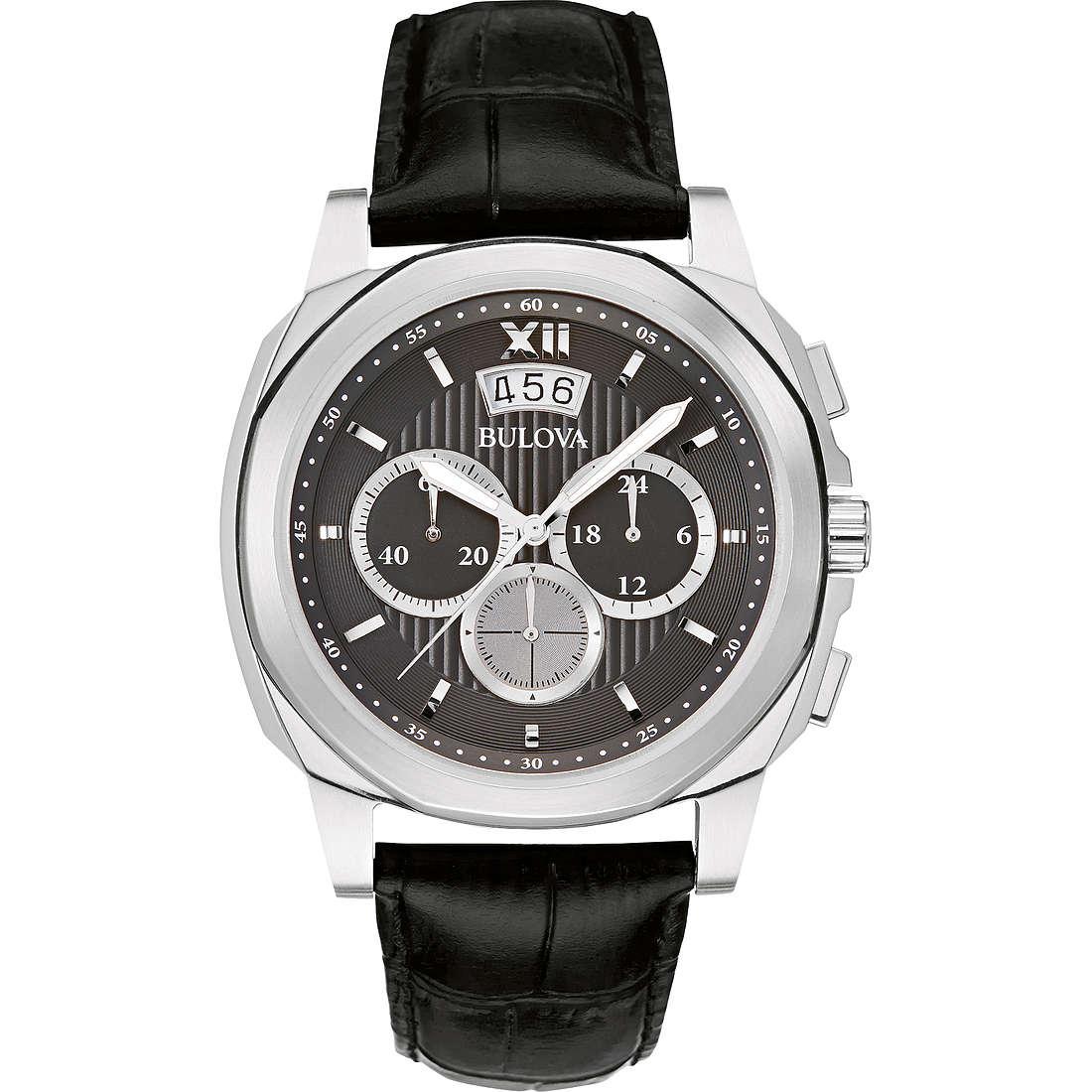 montre chronographe homme Bulova Dress Cronografo 96B218