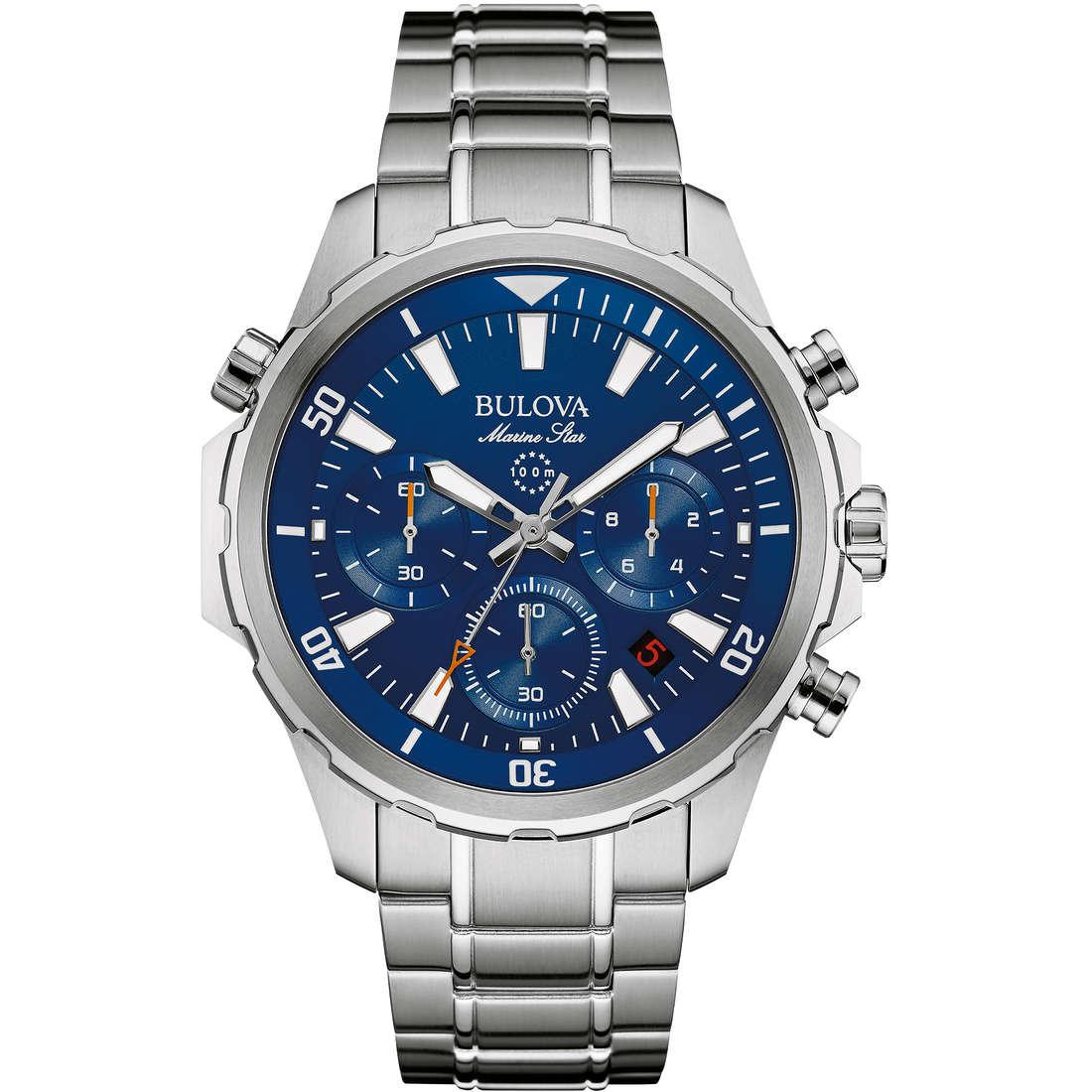 montre chronographe homme Bulova M. Star 96B256