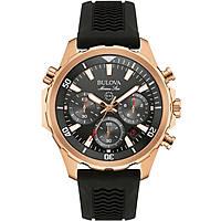 montre chronographe homme Bulova M. Star 97B153