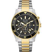 montre chronographe homme Bulova M. Star 98B249