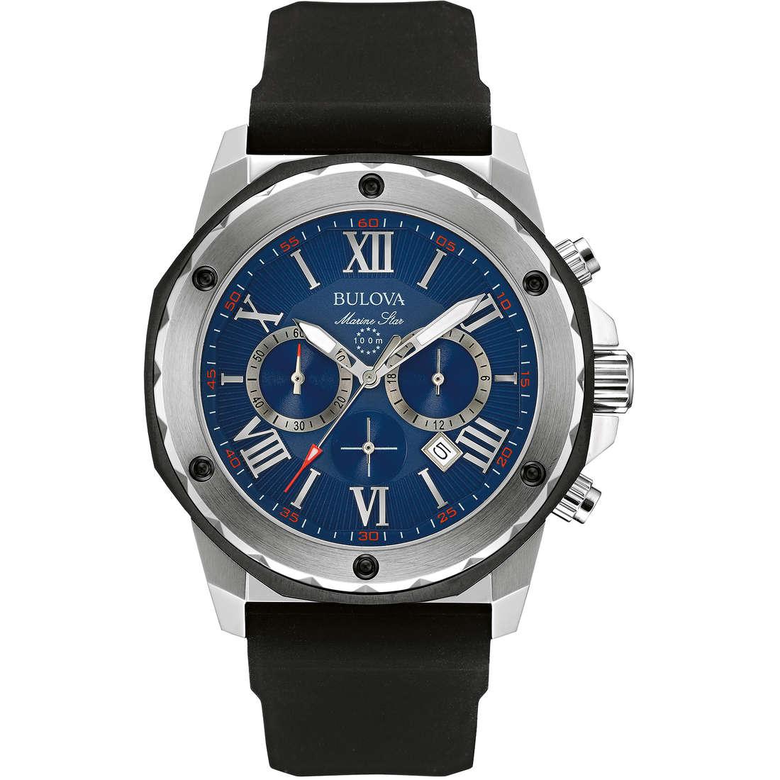 montre chronographe homme Bulova M. Star 98B258