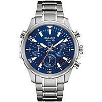 montre chronographe homme Bulova Marine Star 96B256
