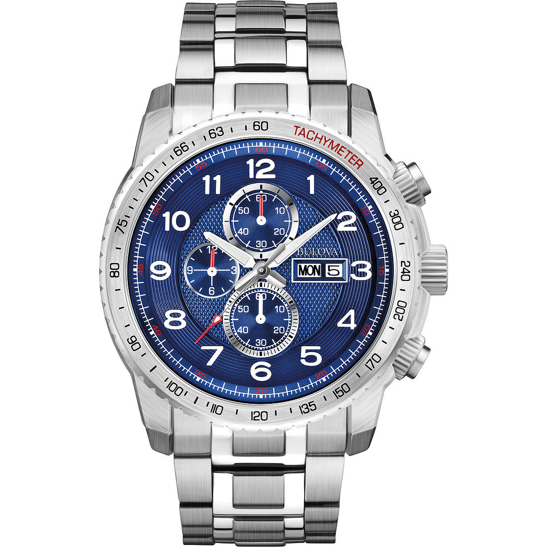 montre chronographe homme Bulova Marine Star 96C121