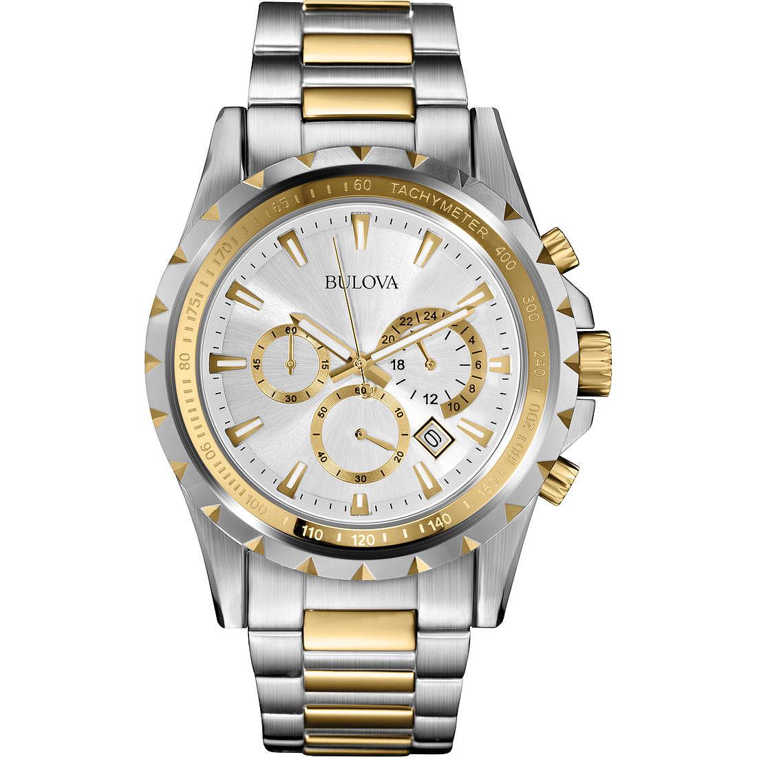 montre chronographe homme Bulova Marine Star 98B014