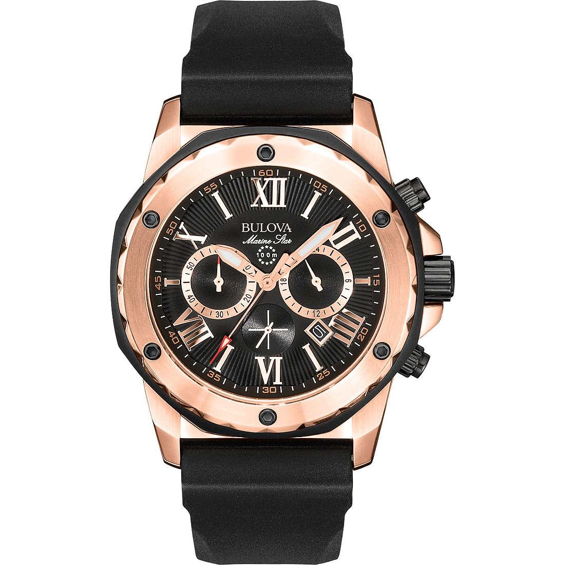 montre chronographe homme Bulova Marine Star 98B104