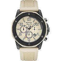 montre chronographe homme Bulova Marine Star 98B201
