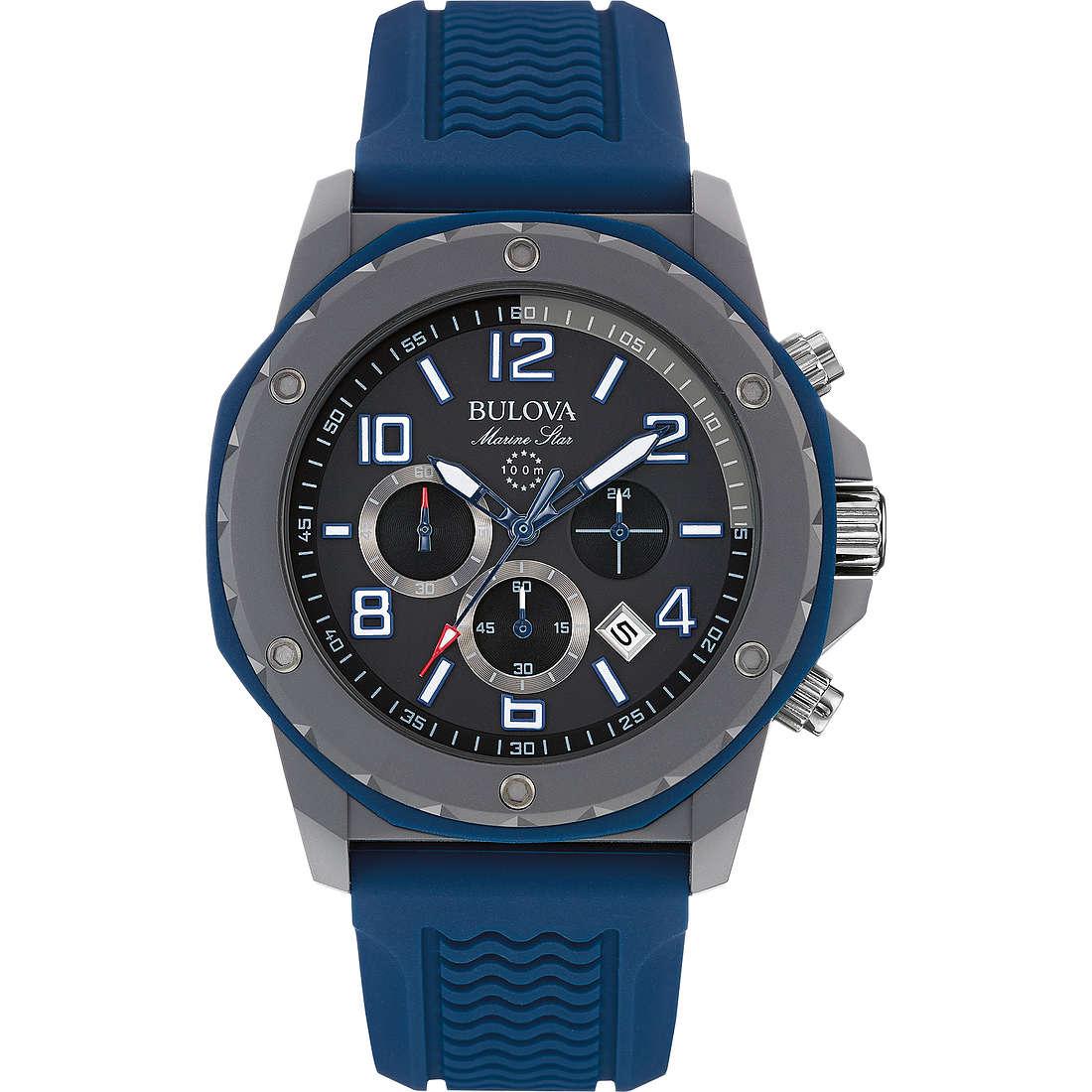 montre chronographe homme Bulova Marine Star 98B246