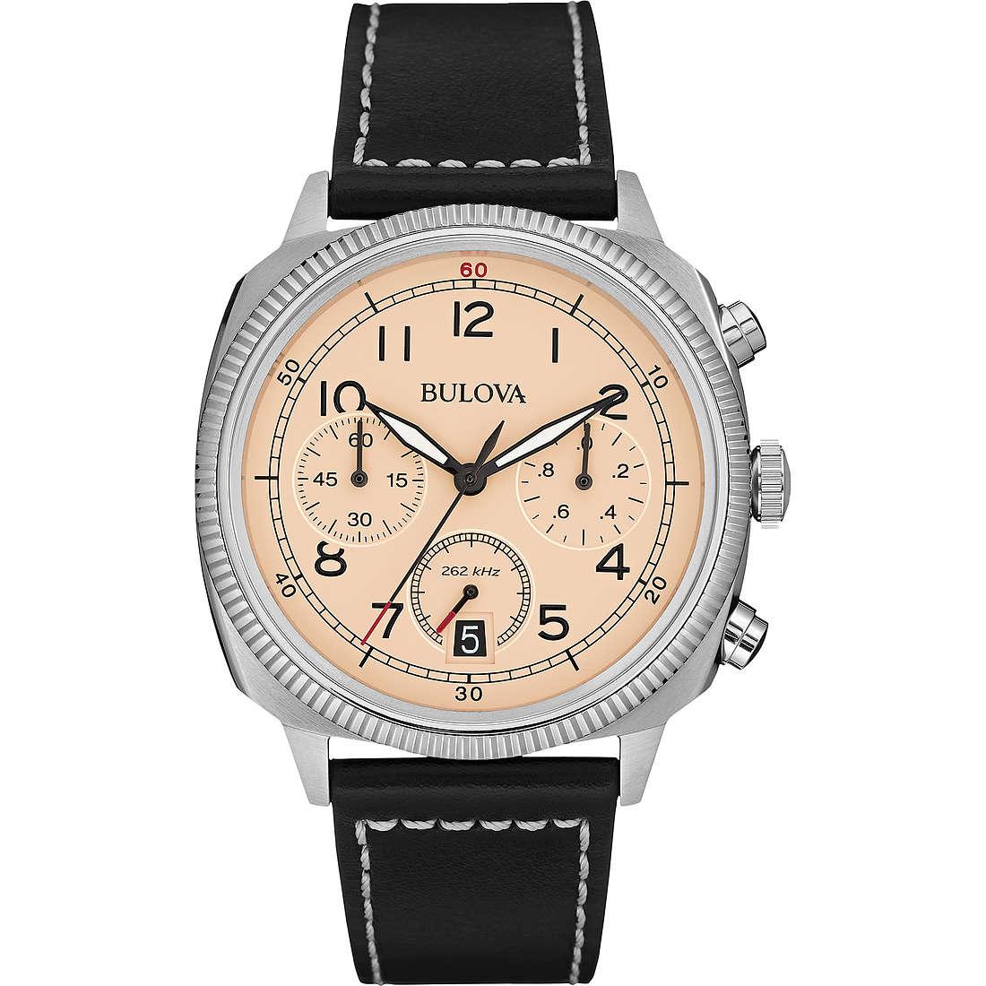 montre chronographe homme Bulova Military Vintage 96B231