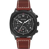 montre chronographe homme Bulova Military Vintage 98B245