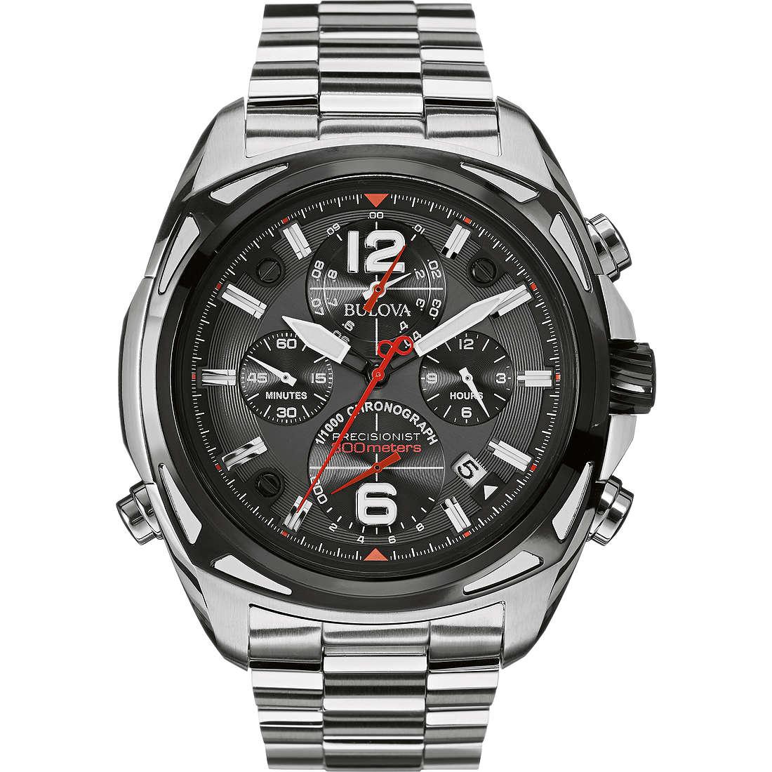montre chronographe homme Bulova Pilot 98B227
