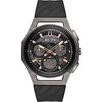 montre chronographe homme Bulova Progressive Curv 98A162